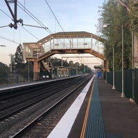 Photo taken at Macquarie Fields Station by Alan J F. on 10/13/2017