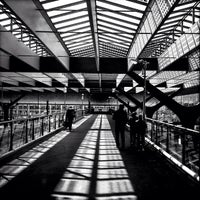 Photo taken at Rotterdam Central Station by Mariana W. on 5/1/2013