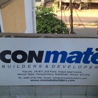 Photo taken at Conmate builders & developers by Shibu P. on 12/24/2012