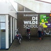 Photo taken at Burgemeester De Wildeschool by Marcel B. on 12/12/2012