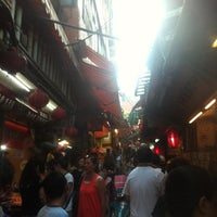 Photo taken at Jiufen Old Street by Hidenori I. on 7/23/2013