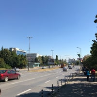 Photo taken at G.M. Dimitrov Blvd. by Zhivko Z. on 9/7/2017