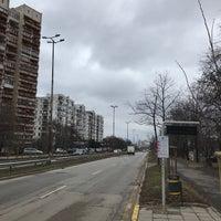 Photo taken at G.M. Dimitrov Blvd. by Zhivko Z. on 1/3/2018