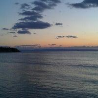 Photo taken at Kοχύλι Beach Bar by Zhivko Z. on 1/8/2013