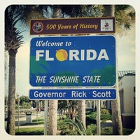 Photo taken at Florida Welcome Center (I-95) by TeyTey on 8/10/2013