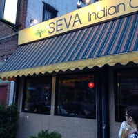 Photo taken at Seva Indian Cuisine by Bill B. on 8/7/2013