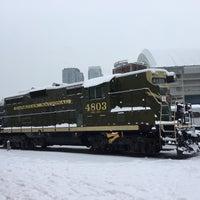 Photo taken at Toronto Railway Heritage Centre by Olena S. on 12/23/2017