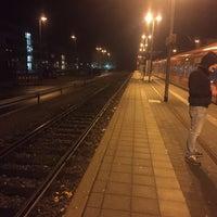 Photo taken at Bahnhof Herrenberg by Andrea S. on 12/22/2016