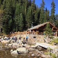 Photo taken at Lake Agnes Tea House by Terry W. on 9/26/2016
