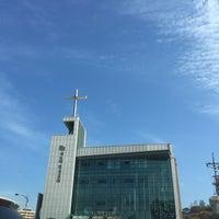Photo taken at 새노래명성교회 by Clare Ann K. on 10/25/2015