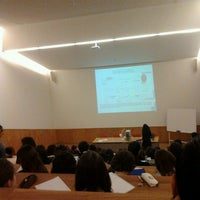 Photo taken at FFUP/ICBAS - Ed.3 by André M. on 10/8/2012