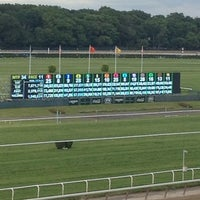 Photo taken at Belmont Park Racetrack by preston n. on 6/8/2013