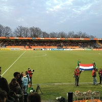 Photo taken at Mandemakers Stadion by Ellen J. on 3/25/2013