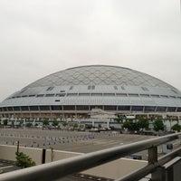 Photo taken at Nagoya Dome by Hazime K. on 7/3/2013