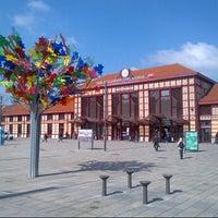 Photo taken at Gare SNCF de Saint-Étienne Châteaucreux by Corentin D. on 3/15/2013
