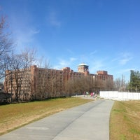 Photo taken at Atlanta BeltLine Corridor over Ponce de Leon by Terry P. on 2/10/2013