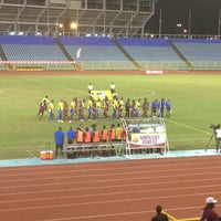 Photo taken at Hasely Crawford Stadium by Tai H. on 12/8/2012