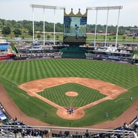 Photo taken at Kauffman Stadium by Evan S. on 7/6/2013