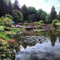 Photo taken at Seattle Japanese Garden by Jane P. on 5/19/2013
