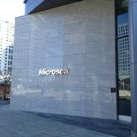 Photo taken at Microsoft City Center Plaza by Jane P. on 3/29/2013