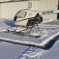 Photo taken at BBCC Aviation Building by Nick H. on 2/7/2014