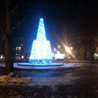 Photo taken at Jēkaba laukums by Linda K. on 12/6/2012