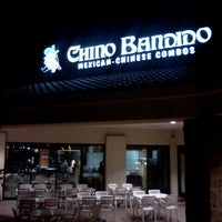 Photo taken at Chino Bandido by Andrew D. on 1/3/2013