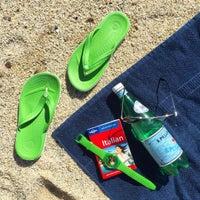 Photo taken at Spiaggia Michelino by Irina A. on 10/9/2016