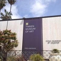 Снимок сделан в Timken Museum of Art пользователем Leslie B. 4/7/2013