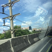 Photo taken at Ramkhamhaeng Road Elevated by Ieves P. on 7/27/2016