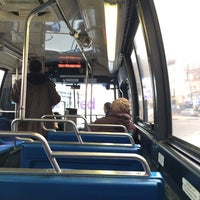 Photo taken at MTA Bus - B62 by Amanda C. on 3/12/2014