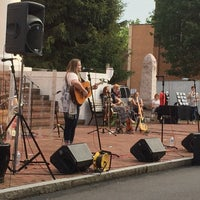 Photo taken at Music On The Square by Cody P. on 5/27/2016