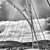 Photo taken at Puente de la Estación by Alberto M. on 5/17/2014