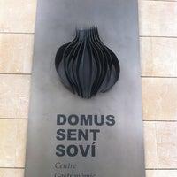 Das Foto wurde bei Domus Sent Soví von Jordi À. am 3/30/2013 aufgenommen