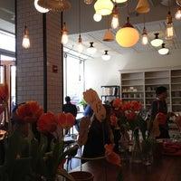 Photo taken at Tatte Bakery & Café by Timur Z. on 9/27/2012