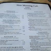Photo taken at New Morning Cafe by Roohi M. on 7/20/2013