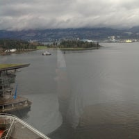 Photo taken at Pan Pacific Vancouver by Garret I. on 3/16/2013