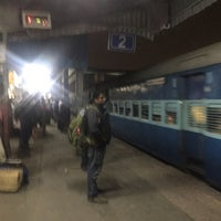Photo taken at Ghaziabad Railway Station by Ravi P. on 11/1/2017