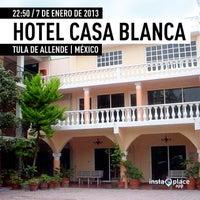 Das Foto wurde bei Casablanca Tula Hotel von miguelaranamx am 1/8/2013 aufgenommen