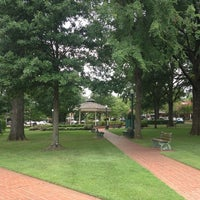 Photo taken at Collierville Town Square Park by Christine D. on 7/24/2013