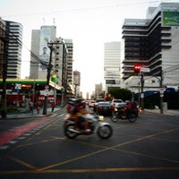 Photo taken at Avenida Dom Luís by Israel S. on 7/22/2015