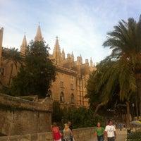 Photo taken at Palacio Real de La Almudaina by Elvira C. on 7/10/2013