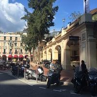 Photo taken at Marché de la condamine, Monaco by Elvira C. on 3/8/2016