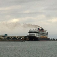 Photo taken at Port Canaveral by Elvira C. on 1/6/2013