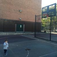 Photo taken at Park Slope Playground by John O. on 10/10/2015