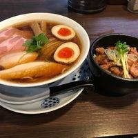 4/27/2018にぶちょーがらぁ麺 紫陽花で撮った写真