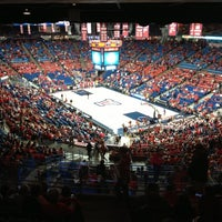 Photo taken at McKale Center by Derrell B. on 11/11/2012