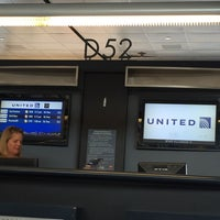 Photo taken at Gate D52 by Len P. on 6/8/2016