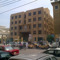 Photo taken at Dow Medical College by Zubair F. on 6/11/2013