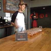 Photo taken at Gigantic Brewing Company by Brewvana T. on 11/4/2012